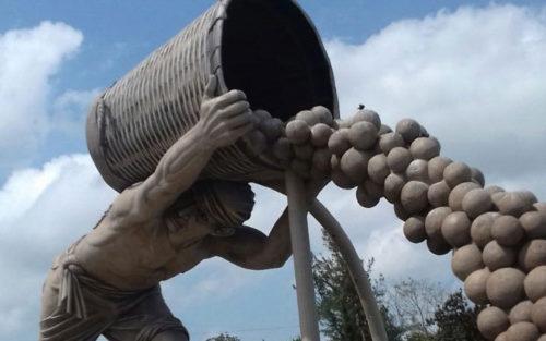 """El  """"Colotero"""" en Álamo Veracruz."""